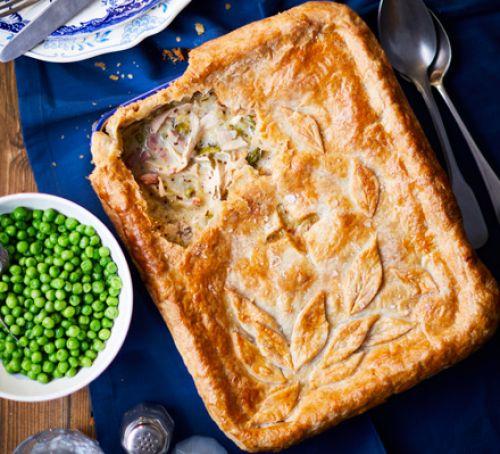 Roast Chicken Pie