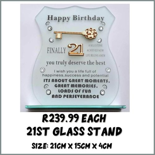 21st Glass Stand R239.99