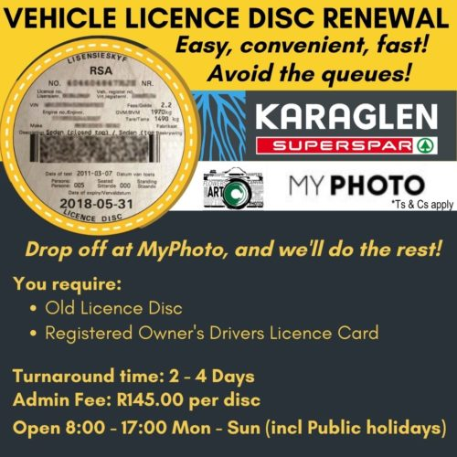 Renew your Vehicle Licence