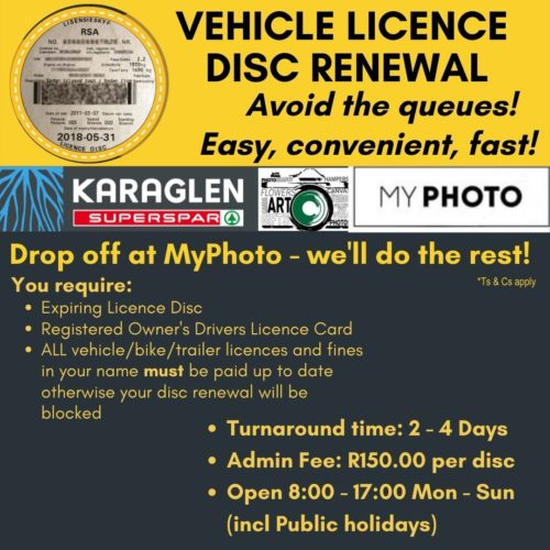 Renew your Vehicle Licence here!